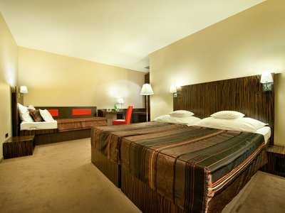 EA Hotel Crystal Palace**** - three-beded room